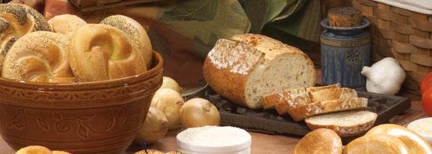 Photo of hearth baked breads